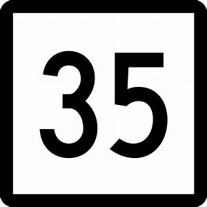 Number Clip Art To 35