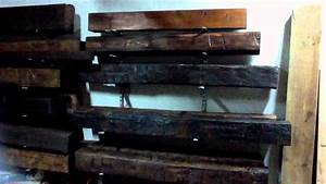 barn beam mantels youtube With barn beam mantels for sale