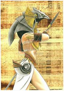 "Horus by ~jrafaelnavarro on deviantART - ""The son of Isis ..."
