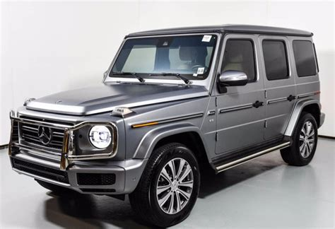The benefits of additional coverage. Certified Pre-Owned 2019 Mercedes-Benz G 550 4MATIC SUV | designo Platinum Magno 20-2633A