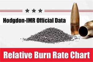 Alliant Powder Burn Rate Chart Daily Bulletin