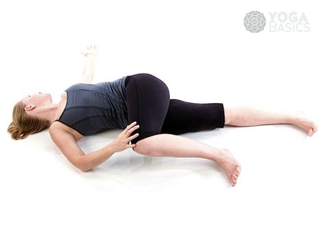 low back reclining supine spinal twist pose basics