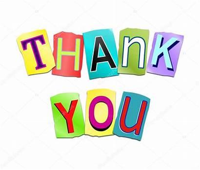 Thank Word Concept Thankyou Clipart Words Clip