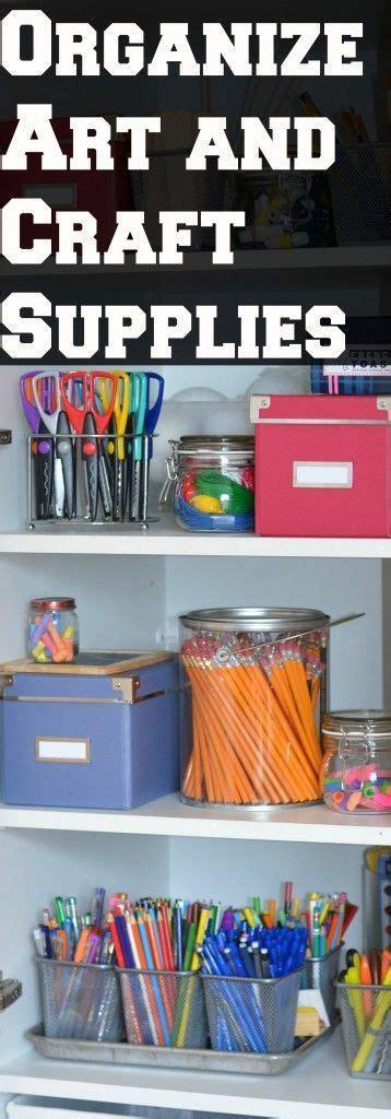 Homeschool Closet Organization Ideas by The Organized Homeschool Challenge And Craft Supplies