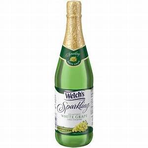 Welch's White Grape Juice Cocktail 25.4 FL OZ GLASS BOTTLE ...