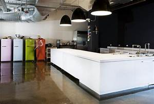 Airbnb39s beautiful offices for Office kitchen