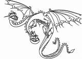 Dragon Coloring Train Pages Zippleback Heads Twin Headed Nightmare Httyd Monstrous Printable Dragons Hiccup Drawings Drawing Coloringsky Getcolorings Getdrawings Drake sketch template