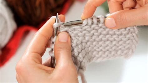 basic knitting stitch knitting youtube