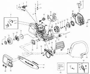 Craftsman 40cc Chainsaw Fuel Line Diagram