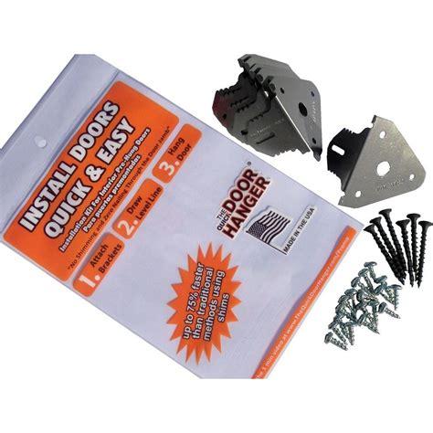 door hanger brackets upc 857844002017 door hanger installation bracket