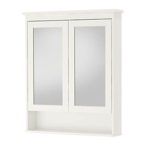 Ikea Bathroom Mirrors And Cabinets by Hemnes Mirror Cabinet With 2 Doors White