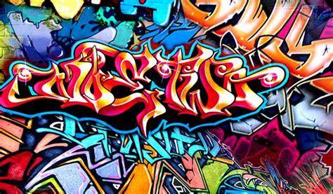 Graffiti Schrift Und Bilder