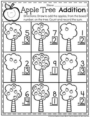 addition worksheets planning playtime