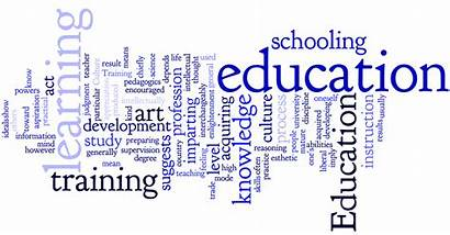Education Word Transparent Map Abroad Learning Cheapest
