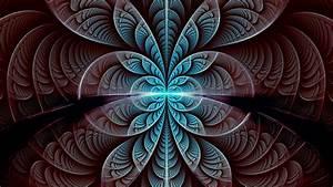 Wallpaper, Fractal, Pattern, Symmetry, Glow, Abstraction, Hd
