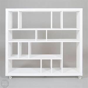Bücherregal Weiß Hochglanz : b cherregal grid regal in wei hochglanz lackiert ebay ~ Whattoseeinmadrid.com Haus und Dekorationen