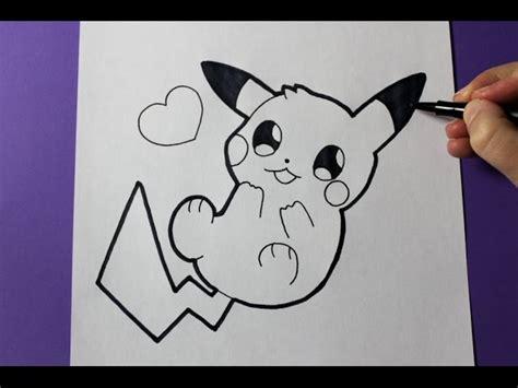 draw cute baby pikachu clipzuicom