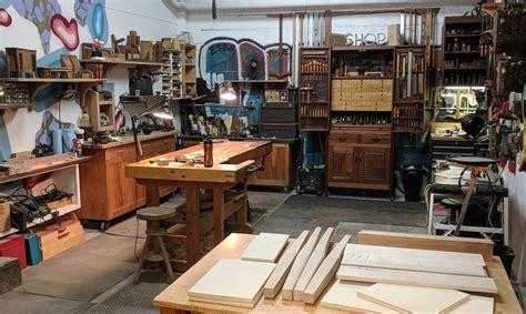 home art gallery  woodworking studio foundation