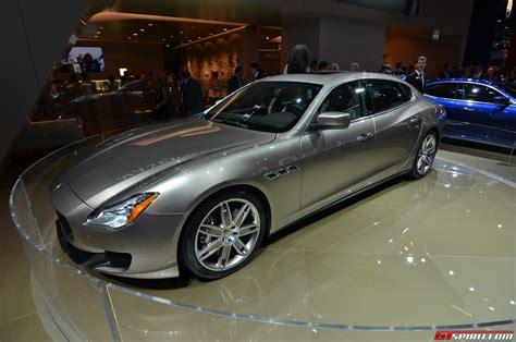 2013 Maserati Quattroporte by Frankfurt 2013 Maserati Quattroporte Ermenegildo Zegna