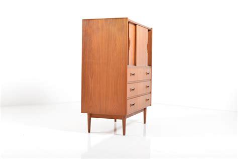 mid century cabinet doors mid century teak cabinet with sliding doors for