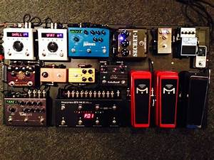 Pete Thorn U0026 39 S Pedalboard 2014 Part 1