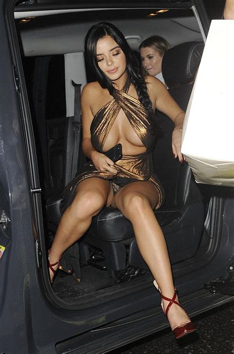 Oops Demi Rose Nip Slip And Upskirt Collection Scandal