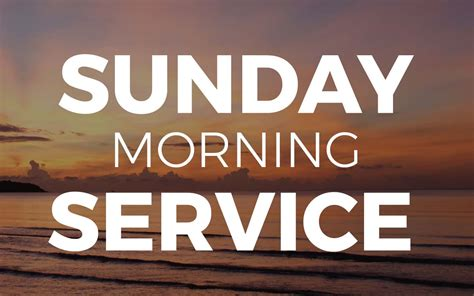 sunday morning service living word church ludington