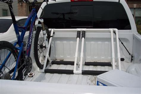 truck bed bike rack plans bed plans diy blueprints
