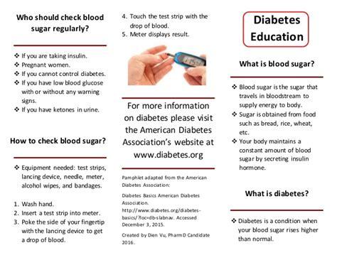 diabetes flyer