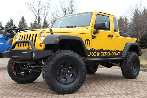 Jeep Jk Truck by Jeep Wrangler Jk 8 Independence Truck Kit Photo