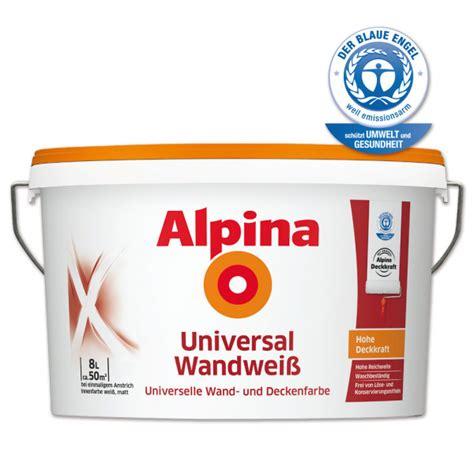 alpina universal weiss alpina universal wandwei 223 farben wand produkte ttl ttm