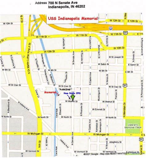 Uss Indianapolis Sinking Map by Indianapolis Radio Club Uss Indy Ops