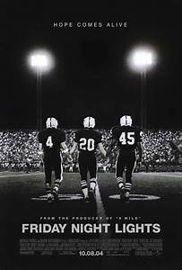 Friday Night Lights Movie Posters From Movie Poster Shop