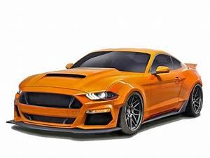 2018-2020 Ford Mustang Duraflex Grid Wide Body Kit
