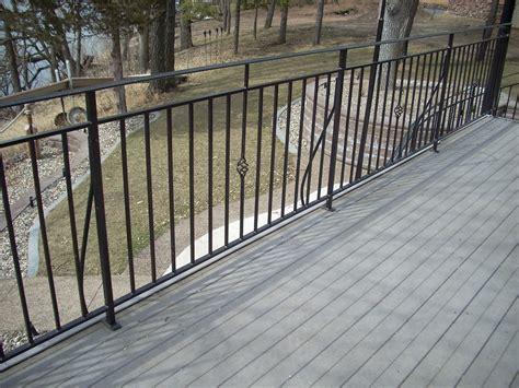 steel deck handrails metal deck railing steel metal deck railing heritage