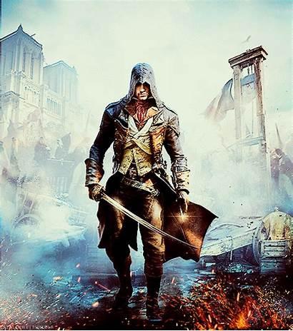 Creed Unity Assassin Ac Gifs Arno Edits