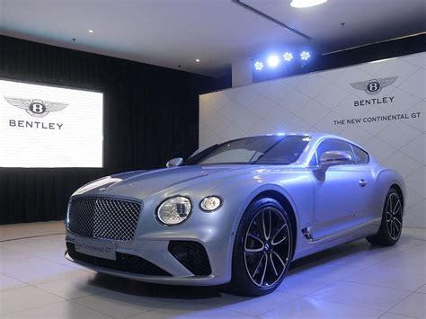 Gambar Mobil Bentley Continental by All New Bentley Continental Gt Resmi Diluncurkan Di