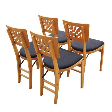 Stakmore Folding Chairs by 4 1940s Regency Stakmore Folding Chairs Price