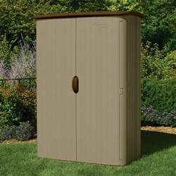 suncast vertical storage shed 52 cu ft model bms4500
