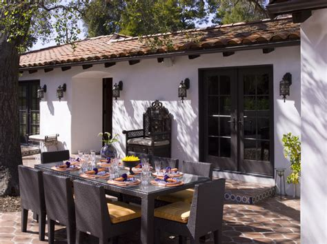 front of house mediterranean patio los angeles by