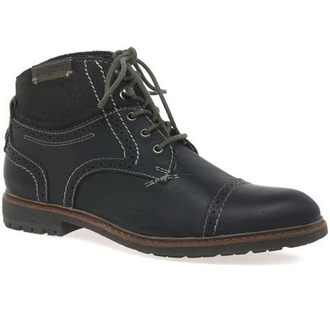 Shop the most exclusive bugatti men's outdoor boots offers at the best prices with free shipping at buyma. Bugatti Virtue Men's Grey Leather Boots | Charles Clinkard