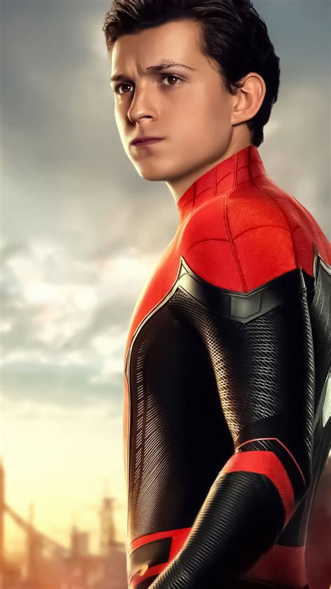 tom holland spider man wallpapers top  tom holland