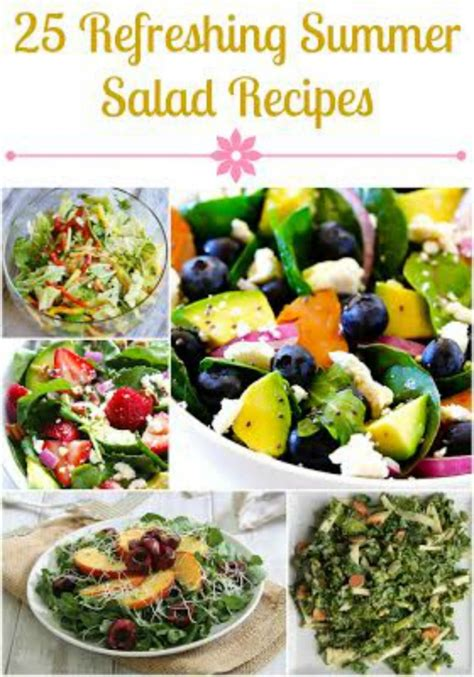 summer salads recipes 25 summer salad recipes