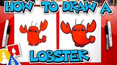 Draw Lobster Hub Artforkidshub Ocean Koi Advanced