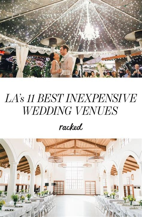 inexpensive la wedding venues rocks