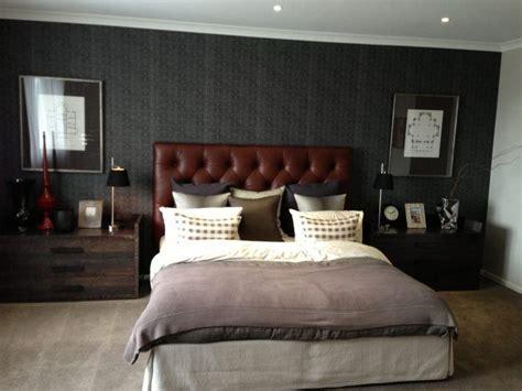 stylish masculine bedroom designs