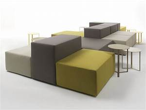 Canape composable modulable lounge collection lounge by for Modular sectional sofa designs