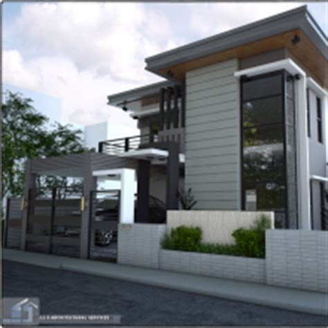 2 Storey Residential House Rizal Province by J.J.S