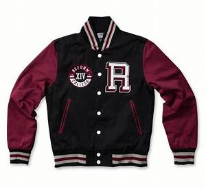 design your own varsity jacket front and back long With custom letterman letters