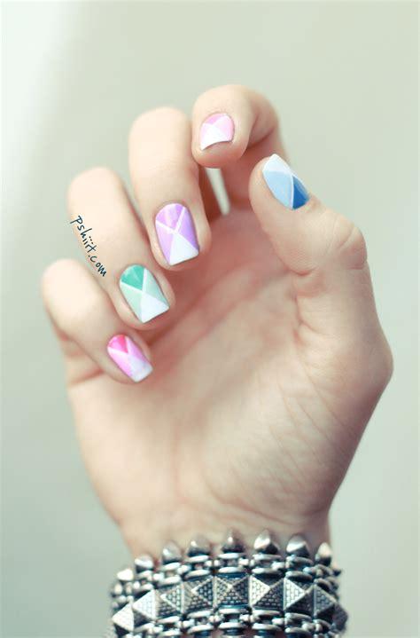 tuto nail art facile nail art aux couleurs de printemps